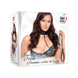 A&E Eve's Fetish Dreams Collar&Leash