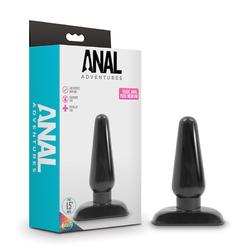 Basic Anal Plug - Medium - Black