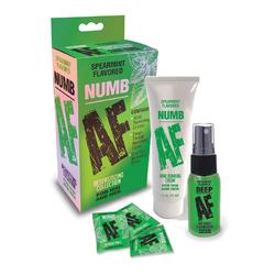 Numb Af Kit Gel Spray And Mints