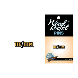 Pronoun  He/Him Pin