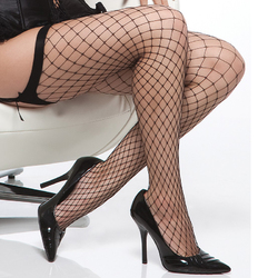 Coquette Stocking Black OSXL