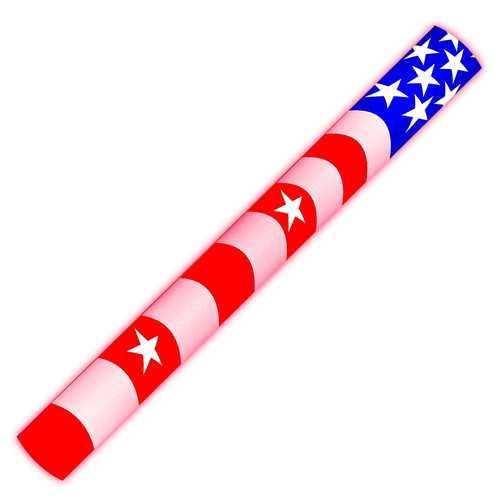 7 Color Foam Cheer Stick USA Flag