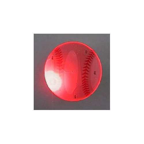 Baseball Flashing Body Light Lapel Pins