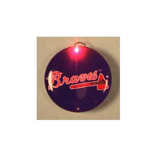 Atlanta Braves Officially Licensed Flashing Lapel Pin