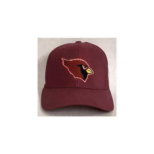 Arizona Cardinals Flashing Fiber Optic Cap