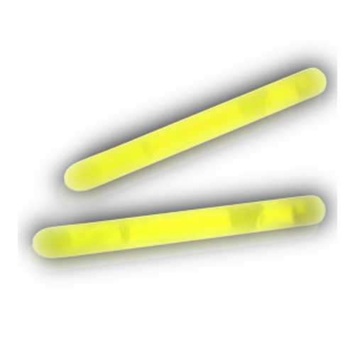 2 Inch Glow Stick Yellow Pack of 100