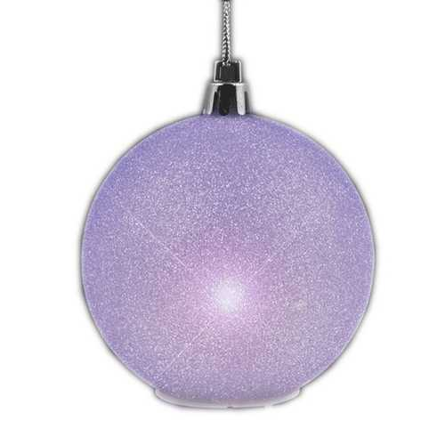 2.5'' Glitter Value Light Hanging Christmas Ornament Decoration