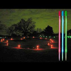 1 Dozen 12 Inch White LED Runway Markers