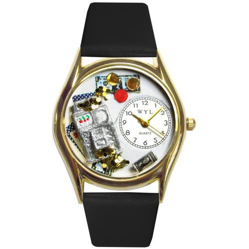 Casino Watch Small Gold Style