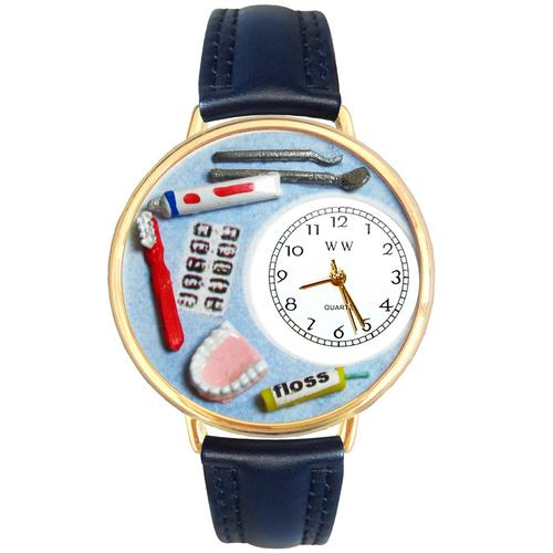 Dentist Watch in Gold (Large)