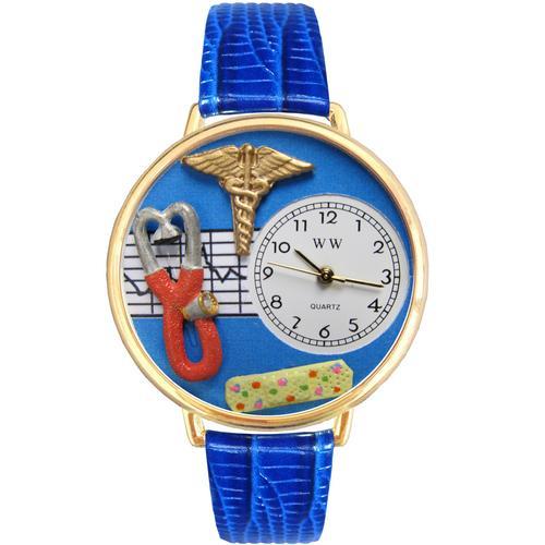 Nurse 2 Blue Watch in Gold (Large)