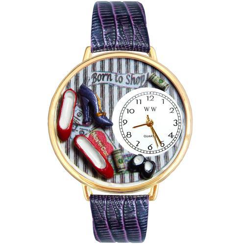 Shoe Shopper Watch in Gold (Large)