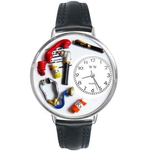 Doctor Watch in Silver (Large)