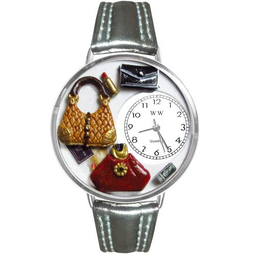 Purse Lover Watch in Silver (Large)