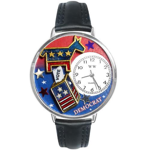 Democrat Watch in Silver (Large)