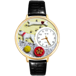 Bulldog Watch in Gold (Large)