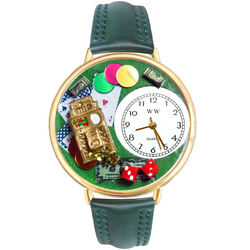 Casino Watch in Gold (Large)