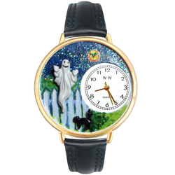 Halloween Ghost Watch in Gold (Large)