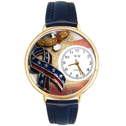 American Patriotic Watch in Gold (Large)