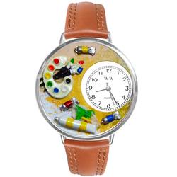 Artist Watch in Silver (Large)
