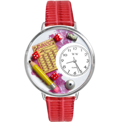 Bunco Watch in Silver (Large)