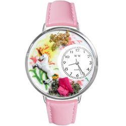 Unicorn Watch in Silver (Large)