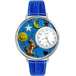 Virgo Watch in Silver (Large)