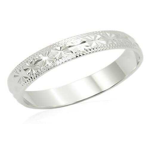 LO998 - Brass Ring Imitation Rhodium Unisex No Stone No Stone