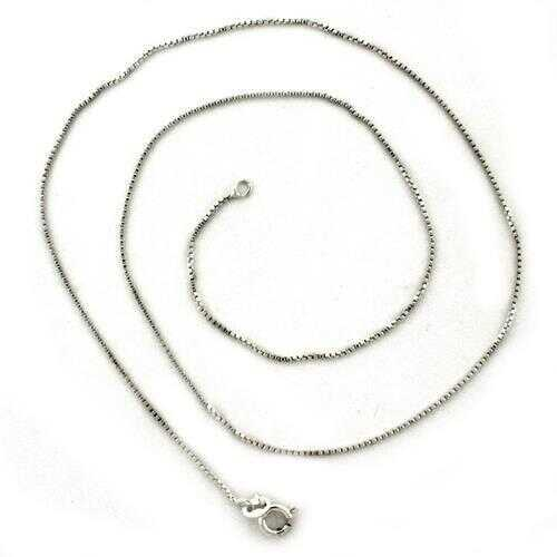 LOAS1092 - 925 Sterling Silver Chain High-Polished Unisex No Stone No Stone