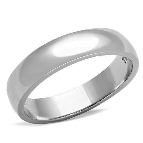 TK1375 - Stainless Steel Ring High polished (no plating) Unisex No Stone No Stone