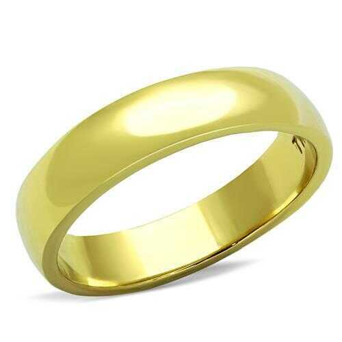 TK1375G - Stainless Steel Ring IP Gold(Ion Plating) Unisex No Stone No Stone