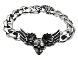 TK434 - Stainless Steel Bracelet High polished (no plating) Men No Stone No Stone