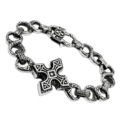TK439 - Stainless Steel Bracelet High polished (no plating) Men No Stone No Stone