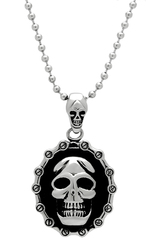 TK463 - Stainless Steel Chain Pendant High polished (no plating) Men No Stone No Stone