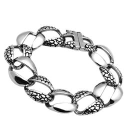 TK565 - Stainless Steel Bracelet High polished (no plating) Men No Stone No Stone