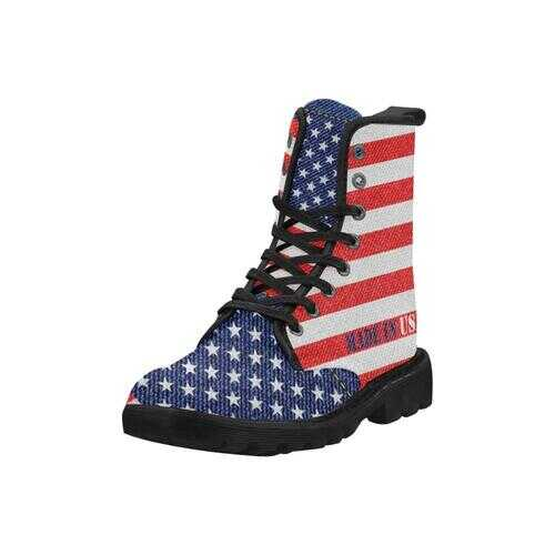Womens Boots, Made In Usa Style Canvas Boots