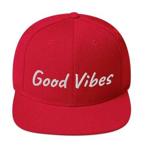 Good Vibes Snapback Hat