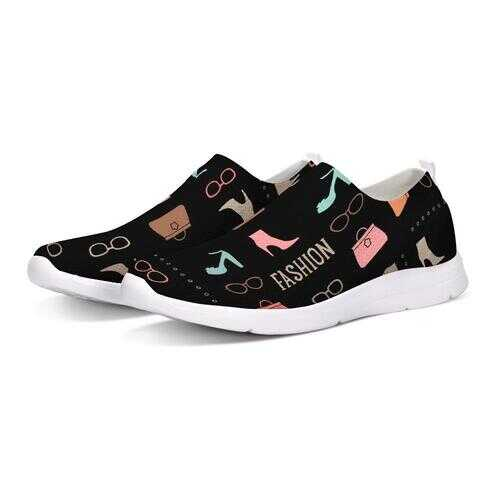 Flyknit Womens Fashion Style Slip On Loafers