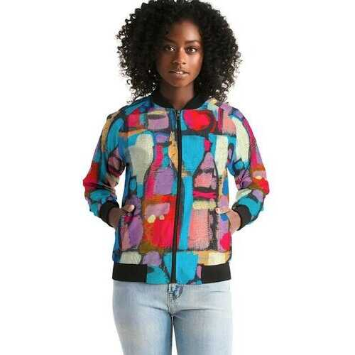 Womens Jackets, Sutileza Smooth Bomber Jacket