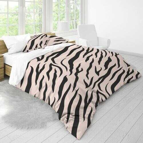 Bedding Sets, Pinkly Wild Print King Duvet Cover