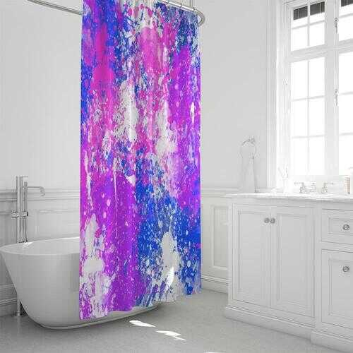 """Cotton Candy Style Shower Curtain 72""""x72"""""""