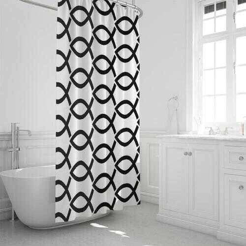 """Bath Accessories, Agape Love Style Shower Curtain 72""""x72"""""""