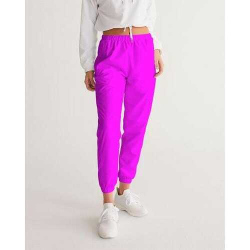 Womens Athletic Pants, Hot Pink Track Pants