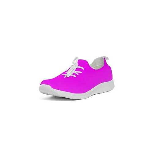 Hot Pink Womens Flyknit Sneakers