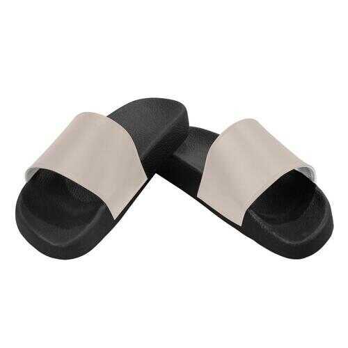 Flip-Flop Sandals, Beige Womens Slides