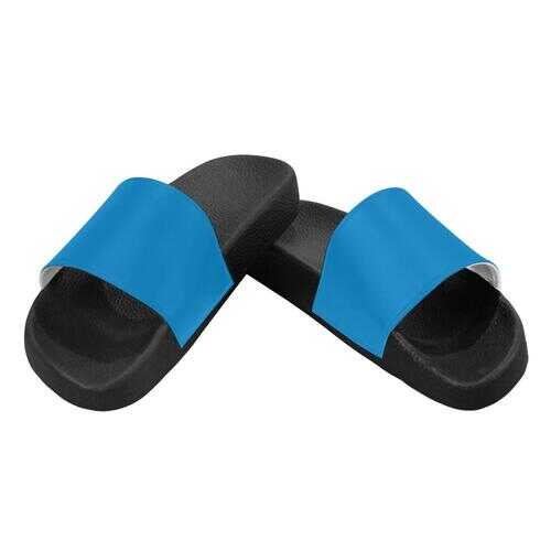 Flip-Flop Sandals, Carolina Blue Womens Slides