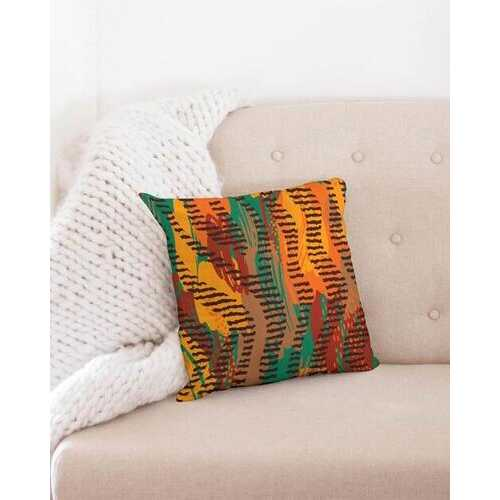 "Tribal Colorful  Throw Pillow Case 16""x16"""