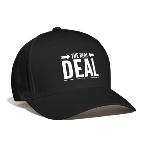 The Real Deal Graphic Style Baseball Cap
