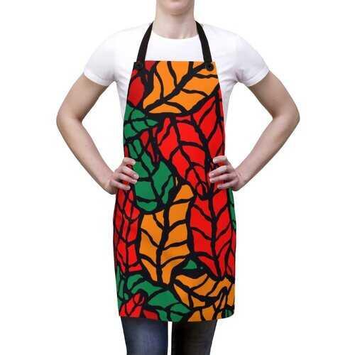Unisex Apron, Autumn Floral Design