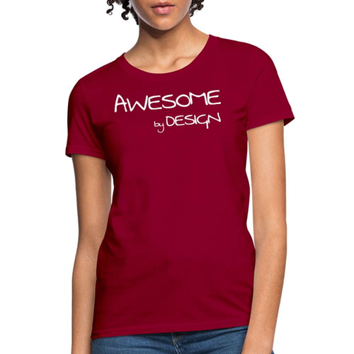 Awesome By Design Womens Classic T-Shirt
